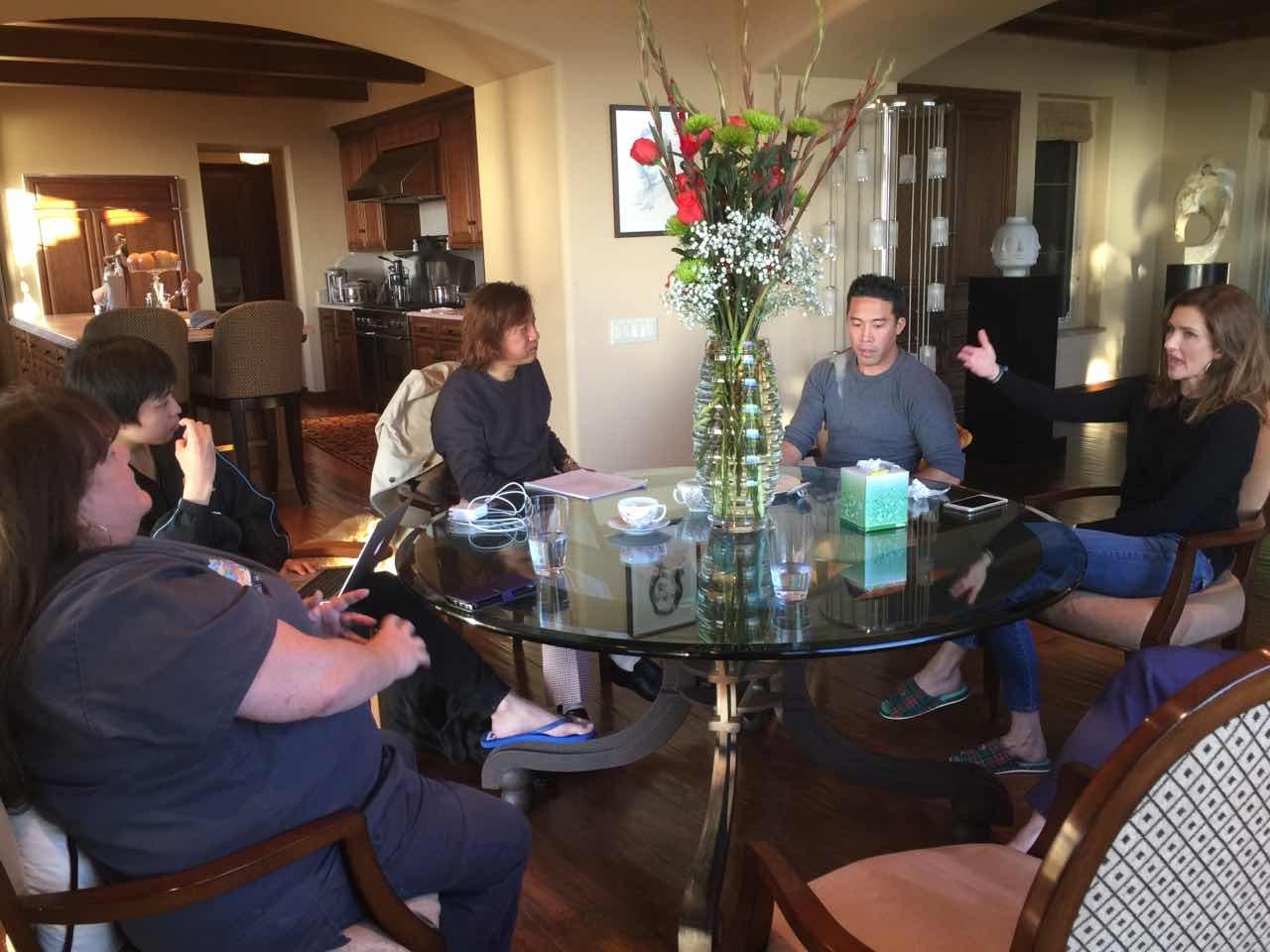 10月16日 与美国救狗英雄Marc Ching会面