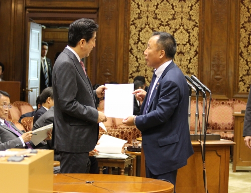 PM Abe receives letter from US Congressman, Japan Ministry of Environment agrees we should ban dog meat consumption